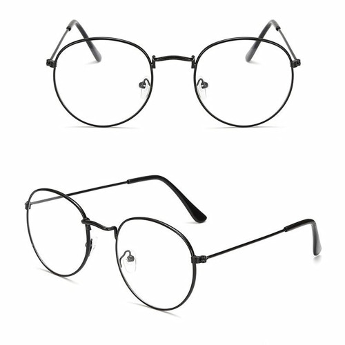 Snagshout | Classic Round Glasses Frame, Women Men Clear Lens ...