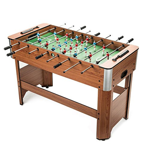 Snagshout | Pinty Foosball Table 50u0027u0027Competition Sized Soccer Game Table/Hockey  Table For Family Use Game Room