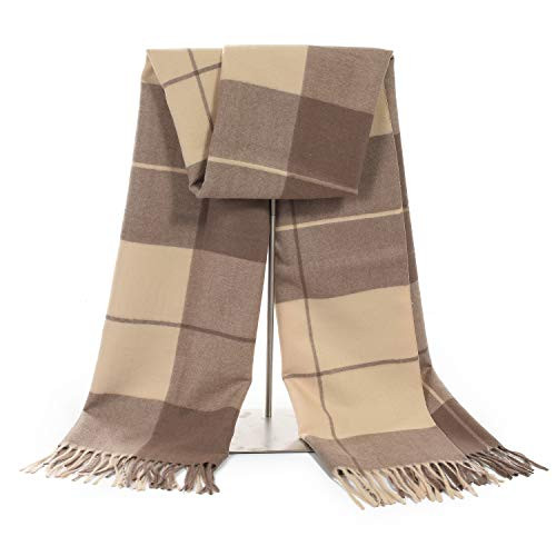 3ca429b7e Snagshout | 60% Off Women's Cashmere Brown Blanket Shawl Wraps Gift Box  Wrapped Large Winter Pashmina Stole Scarf for Ladies