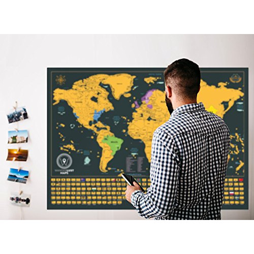 Snagshout scratch off maps bundle xxl scratch off world map snagshout scratch off maps bundle xxl scratch off world map scratch off usa map includes complete accessories set all country flags and special gumiabroncs Choice Image