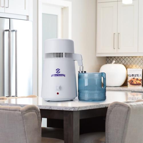 CO-Z 4 Liter Water Distiller, Distilling Pure Water Machine for Home  Countertop Table Desktop, 4L Distilled Water Making Machine, FDA Approved  Water
